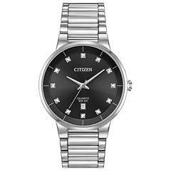 Citizen Mens Silver Tone Bracelet Watch-Bi5010-59g