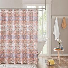 Intelligent Design Mae Printed Shower Curtain