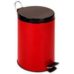 Honey-Can-Do® 12-Liter Red Step Trash Can