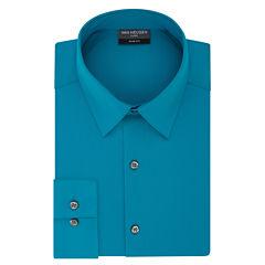 Van Heusen Flex 3 Long Sleeve Woven Dress Shirt - Slim