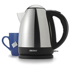 Aroma AWK-125S Hot H20 X-Press 7-Cup Electric Water Kettle