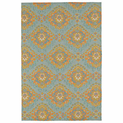 Kaleen Habitat Medallion Hand Tufted Rectangular Rugs