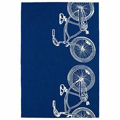 Kaleen Sea Isle Bicycle Hand Tufted Rectangular Rugs