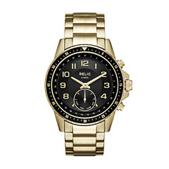 Relic Connected Mens Gold Tone Smart Watch-Zrt1009