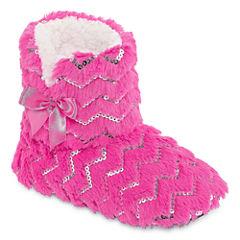 Total Girl Sleep Over Shop Bootie Slippers
