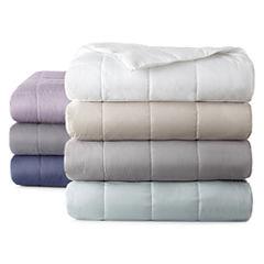 JCPenney Home™ Bouclé Down-Alternative Blanket