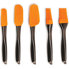 BergHOFF®Geminis 5-pc. Silicone Brush and Scraper Set