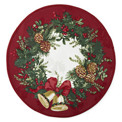 JCPenney Home Holly Bells 4-pc. Placemat
