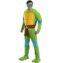 Teenage Mutant Ninja Turtles Deluxe Leonardo AdultCostume - One Size Fits Most