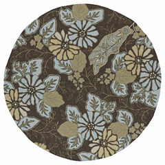 Kaleen Home And Porch Moon Flower Hand Tufted Rectangular Rugs