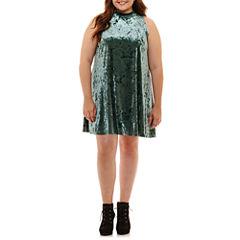 Arizona Sleeveless Swing Dress-Juniors