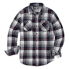Arizona Long Sleeve Flannel Boys 8-20 & Husky