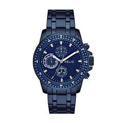 Relic Mens Blue Bracelet Watch-Zr15937