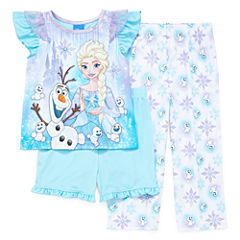Disney 3-pc. Frozen Pajama Set Girls