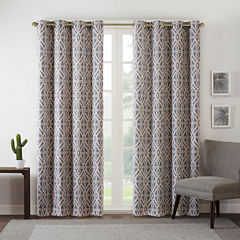 Arlo Blackout Grommet-Top Curtain Panel