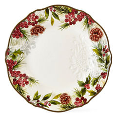 JCPenney Home Pineberry 4-pc. Dinner Plate