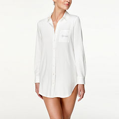 Flora By Flora Nikrooz Long Sleeve Nightshirt-Plus