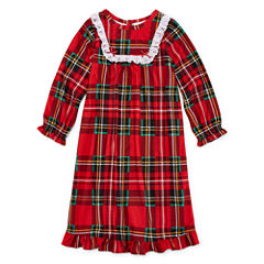Long Sleeve Nightgown-Toddler Girls