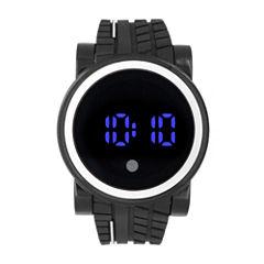 Mens Black Strap Watch-33556