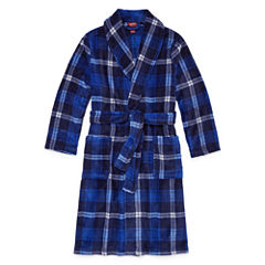 Arizona Long Sleeve Robe-Big Kid Boys Husky