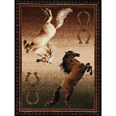 United Weavers Legends Collection Ponies Rectangular Rug