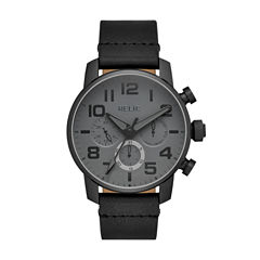 Relic Mens Black Strap Watch-Zr15887
