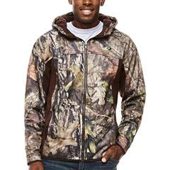 Mossy Oak Long Sleeve Fleece Camouflage Hoodie
