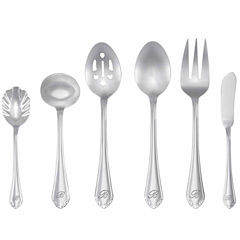 RiverRidge Royalty 46 Pc Personalized or Solid Flatware Set