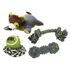 Animal Planet™ Set of 4 Pet Play Toys