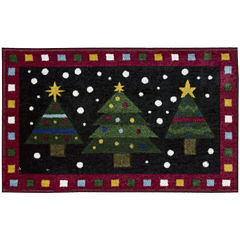 Nourison® Three Trees Printed Rectangular Rug