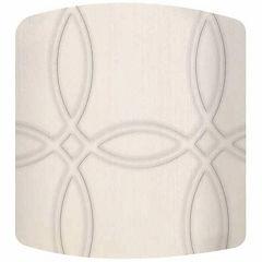 Trellis Canvas Drum Lamp Shade