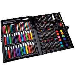 Artyfacts 120-Piece Portable Deluxe Art Studio Kit