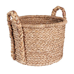 Household Essentials Wicker Floor Basket