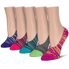 5-pc. Liner Socks - Womens