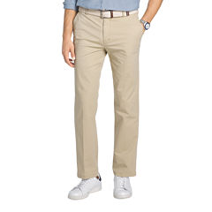 IZOD Flat Front Chino Stretch Pants