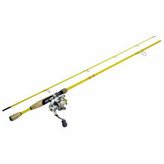 Eagle Claw Featherlight Spinning Combo Rod and Reel