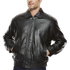 Pig Leather Bomber Jacket