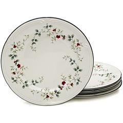Pfaltzgraff® Winterberry Set of 4 Dinner Plates