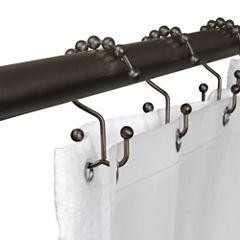 Maytex Mills Double Ball Glilde Shower Curtain Hooks