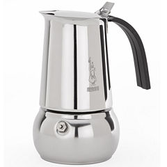 Bialetti® Kitty 6-Cup Stainless Steel Stovetop Coffee Maker