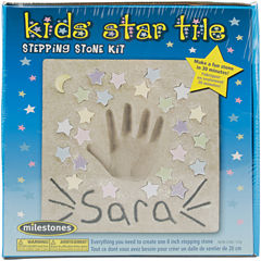 Kids Star Tile Stepping Stone Kit