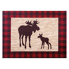 Trend Lab Northwoods Moose Canvas Wall Art