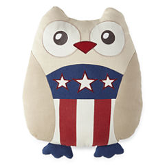 JCPenney Home™ Americana Owl Pillow