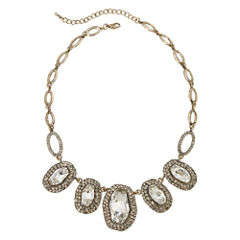 Natasha Antique-Style Stone Statement Necklace