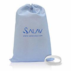 Salav SA102 2-pc. Garment Steamer Brush & Travel Bag Accessory Pack