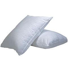 DownLinens Plush Perfect Down-Alternative Soft 2-Pack Pillows