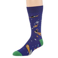 Reckless® Novelty Crew Socks