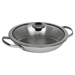 Revere Copper Confidence Core 1.9 qt Stainless Steel Braising Pan