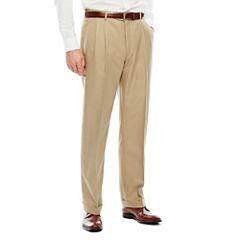 Stafford Pleated Microfiber Pant