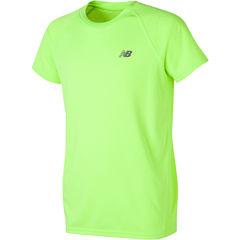 New Balance Short Sleeve Crew Neck T-Shirt-Preschool Boys